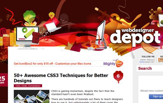 20 Awesome Web Blog Design for Inspiration 12