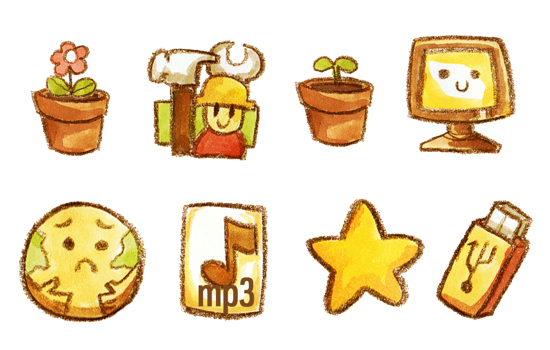 10 Most Useful and Beautiful Free Icon Set for Web Designers 3