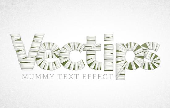 15 Excellent Text Effect Tutorials in Illustrator 1