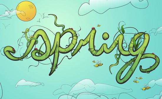 15 Excellent Text Effect Tutorials in Illustrator 9