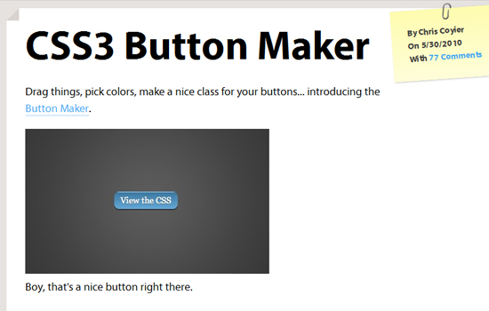 10 Useful CSS3 Tools for Your Next Web Development 3