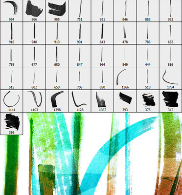 20 Set of Useful Free Photoshop Brushes for Designers 10
