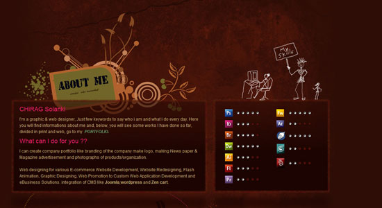 Experience About Us Pages of Some Highly Creative Designers Website 3