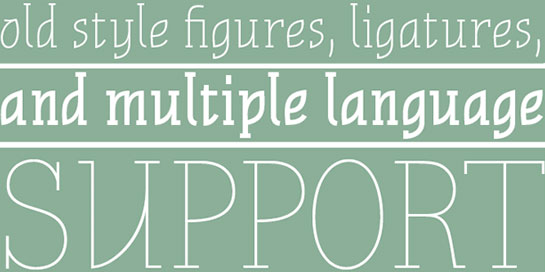 11 Most Efficient Free Fonts to Create Elegant Designs 7