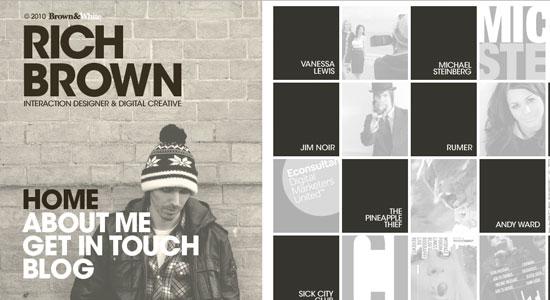 30 Creative Portfolio Designs to Inspire Designers 15