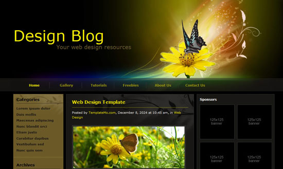 40 High Quality Free XHTML/CSS Web Template for Developers 12