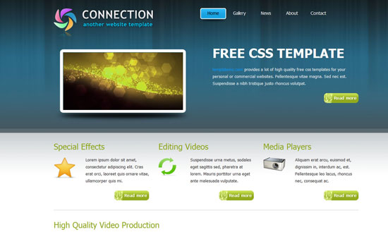 40 High Quality Free XHTML/CSS Web Template for Developers 13