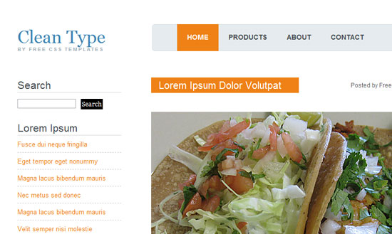 40 High Quality Free XHTML/CSS Web Template for Developers 29