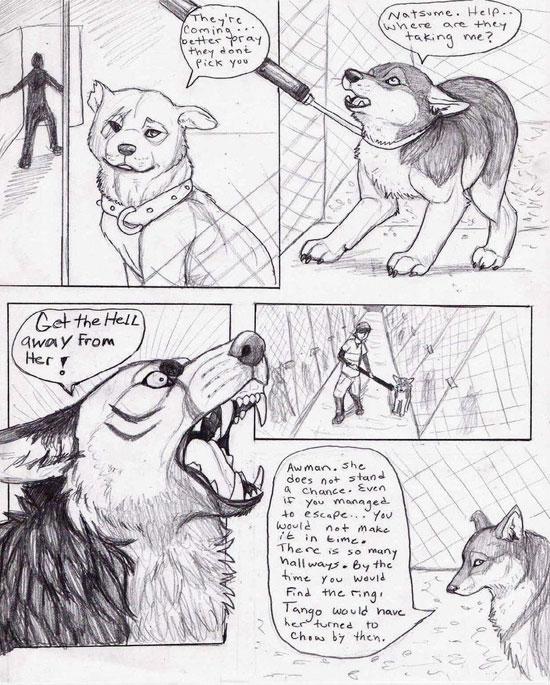Monday Mania #1: Beautiful Story in Comic Art Sketch-1 13