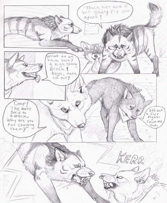 Monday Mania #1: Beautiful Story in Comic Art Sketch-1 2