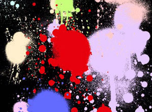 10 Set of Splatter, Spray and Watercolor Free Photoshop Brushes 5