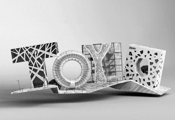 20 Exceptional 3D Type Illustration for Inspiration 14