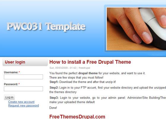 20 Beautiful and Creative Free Drupal Themes 11