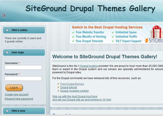 20 Beautiful and Creative Free Drupal Themes 7
