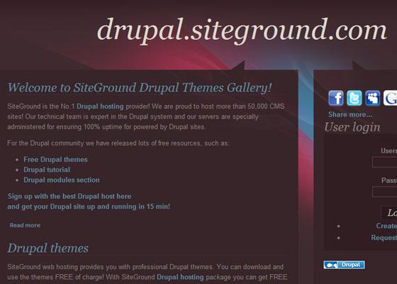 20 Beautiful and Creative Free Drupal Themes 8