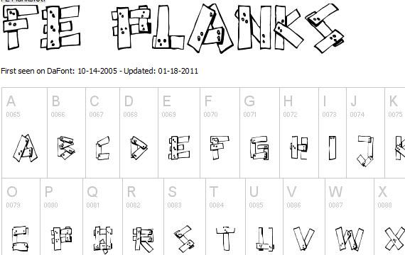 20 Useful Grunge Free Fonts for Web Designers 11