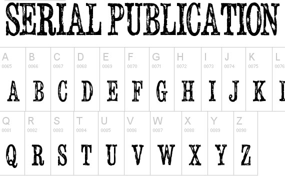 20 Useful Grunge Free Fonts for Web Designers 13