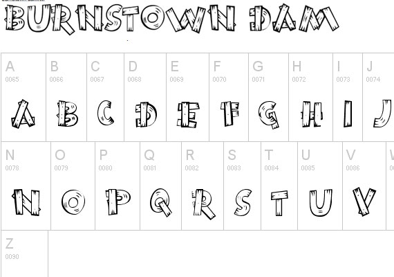 20 Useful Grunge Free Fonts for Web Designers 5