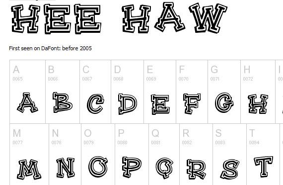20 Useful Grunge Free Fonts for Web Designers 8