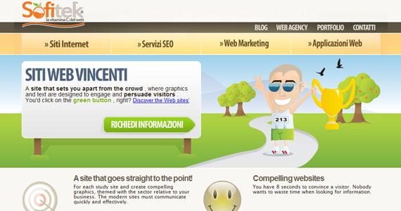20 Creative Web Design in green Color 7