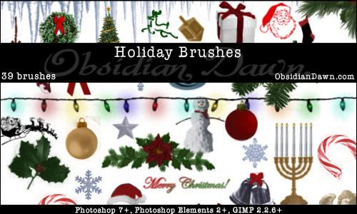 15 Beautiful and Useful Free Photoshop Brush Set 6