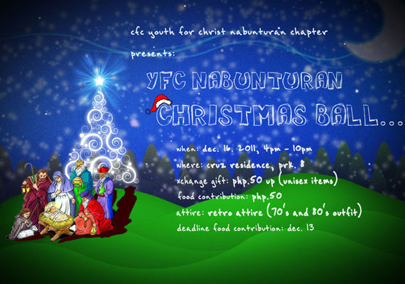 15 Awesome Christmas Poster Design 15