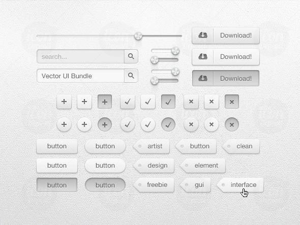 New Creative UI Kit Free Download 1