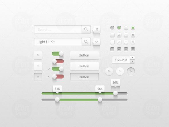 New Creative UI Kit Free Download 10