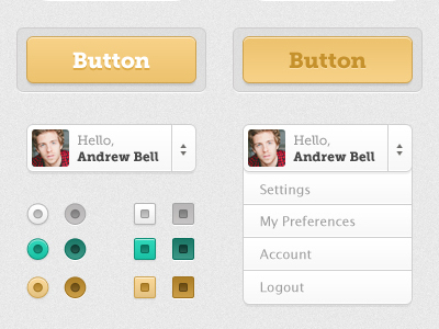 20 Beautiful Web 2.0 Button Designs For Your Inspiration 17