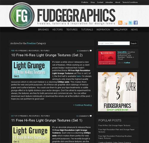 20 Blogs Offering Web Design Freebies 1