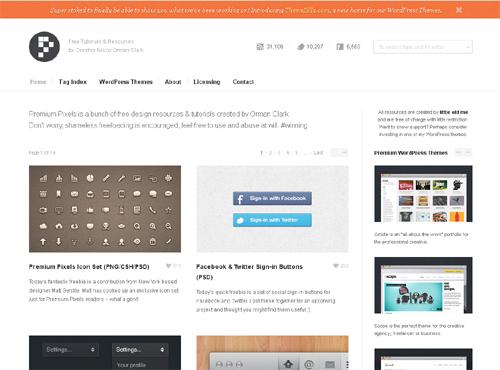 20 Blogs Offering Web Design Freebies 11