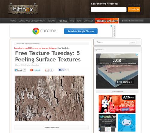 20 Blogs Offering Web Design Freebies 6