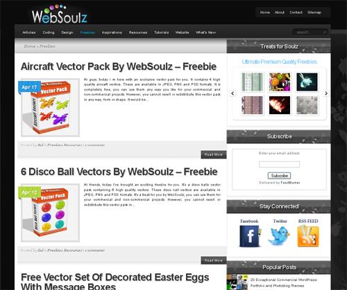 20 Blogs Offering Web Design Freebies 8