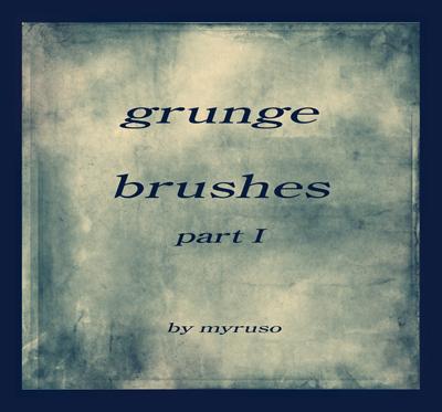 20 Free Photoshop Grunge Brushes 10