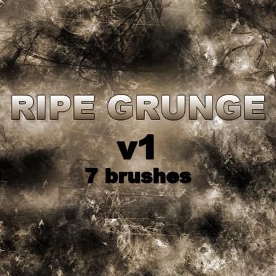 20 Free Photoshop Grunge Brushes 15