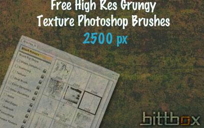 20 Free Photoshop Grunge Brushes 5