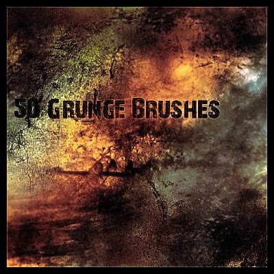 20 Free Photoshop Grunge Brushes 9