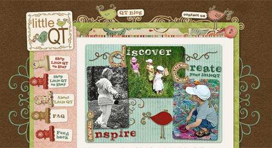 15 Scrapbook Style Web Design for Creative Inspiration 4