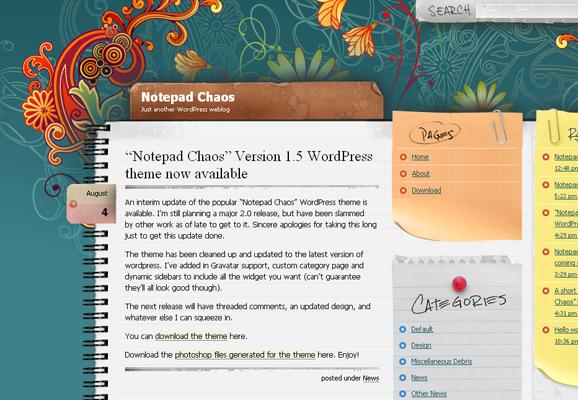 15 Scrapbook Style Web Design for Creative Inspiration 5