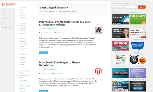 Websites to Download Free Magento Templates 4