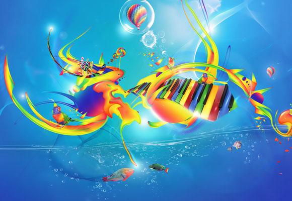 30 Excellent Color Spectrum Wallpapers 4