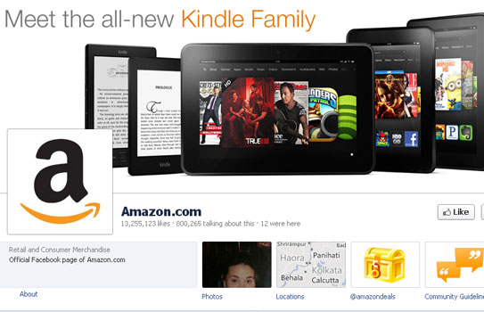 Checkout these 5 Best Facebook Ecommerce Store of 2012 2