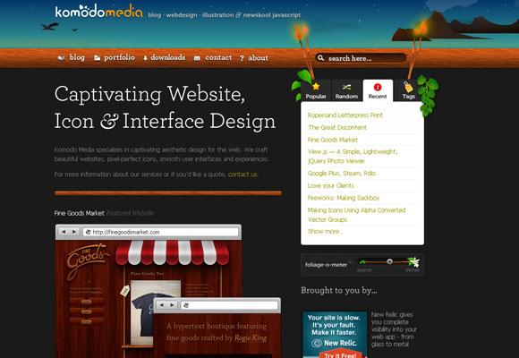 20 Excellent Website with Creative Header Design 4