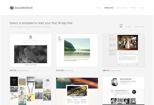 40 Impressive Grid based Web Designs for Inspiration 13