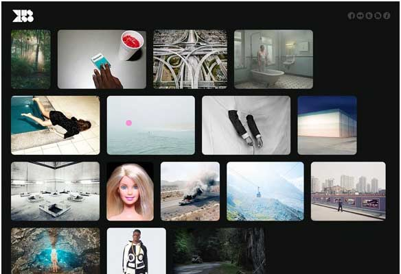 40 Impressive Grid based Web Designs for Inspiration 22