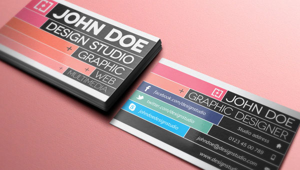 20 Free High Resolution Business Card Templates 2