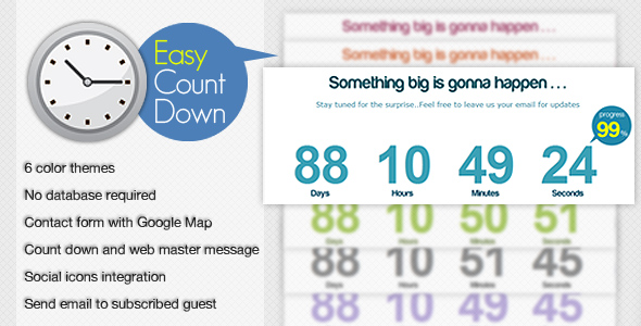30 Impressive Countdown Timer Scripts for You 7
