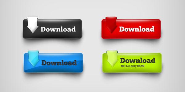 20 Useful Set of Free Web Element PSD 14