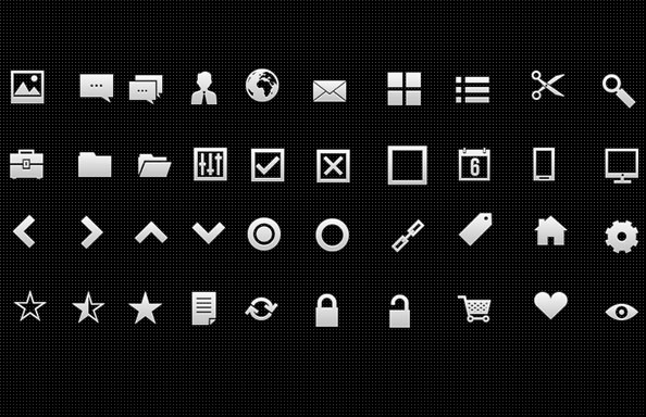20 Useful Set of Free Web Element PSD 20