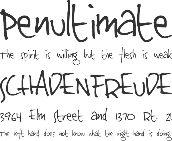 25 Free Brush Fonts For Designers 16